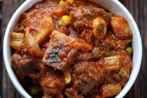 goat meat recipe